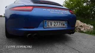 Porsche 991 Targa 4S - Sound and Accelerations