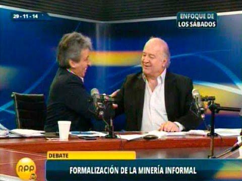 Debate Del Min. Del Ambiente, Manuel Pulgar Vidal Con Hernando De Soto-ild video