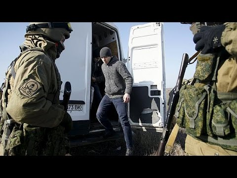 Ukrainian soldiers swapped for rebel fighters and a priest