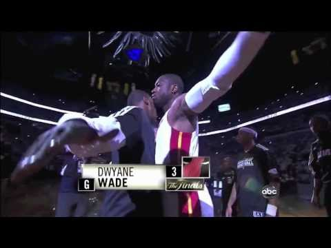 Miami Heat's Dwyane Wade (HD)