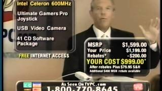 Systemax PC Infomercial from 2000