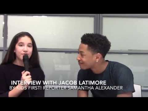 Jacob Latimore Interview With Samantha video