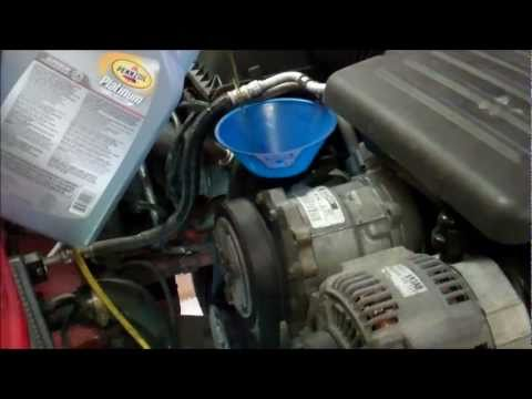 2001 Dodge Dakota 4.7L Engine Oil Change