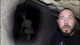 Terrifying Skinwalker Encounter In Haunted Cave