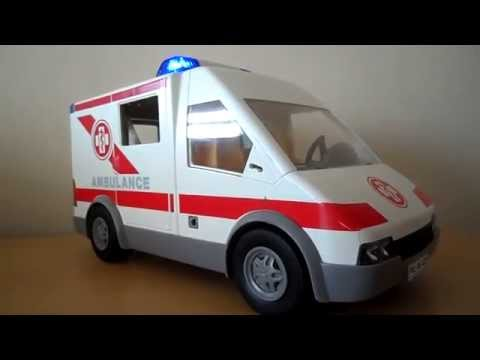 OVERVIEW OF PLAYMOBIL VINTAGE AMBULANCE TOY