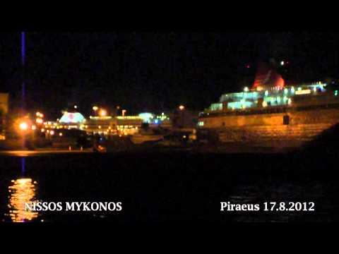 NISSOS MYKONOS night departure