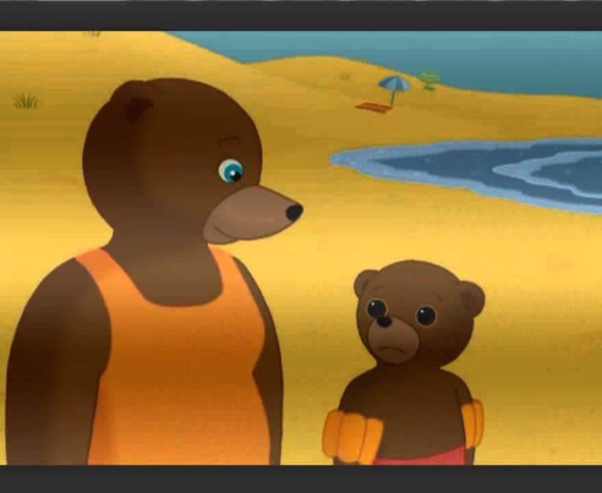 Petit ours d couvre la mer youtube - Petit ours brun a la mer ...