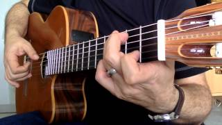"THE IMMIGRANT "" Theme from The Godfather "" SOLO GUITAR"
