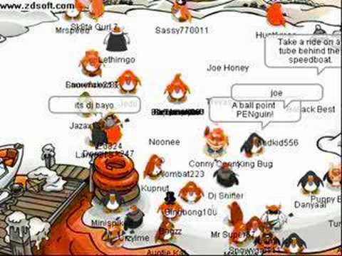 Club penguin this is where the partys at
