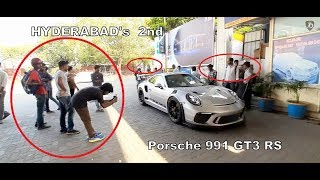 Porsche GT3 RS Revving & Acceleration in HYDERABAD | INDIA | 2019