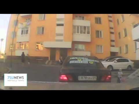 Талдыкорганский таксист пресёк ограбление.