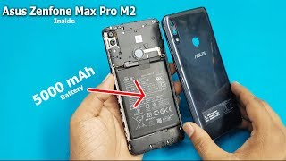 Asus Zenfone Max Pro M2 Open Back Panel - Battery Disconnecting    Zenfone Max Pro M2 Disassembly