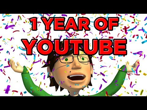 1 Year of Youtube!