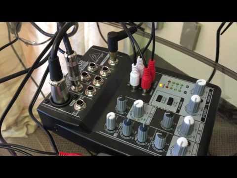 How to set up Behringer Podcast Studio