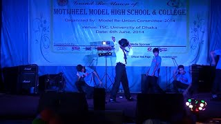 Dhaka university auditorium | THE B-Bots Debut | Bangladesh Street Dancers  Motijheel model reunion