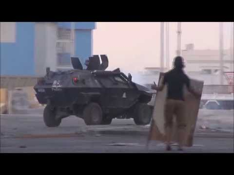 Bahrain : Heavy Clashes From Midnight Until The Morning Between Youths & Police