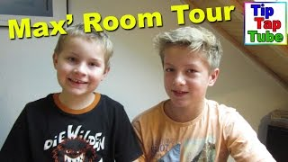 Room Tour Video Zimmer von Max TipTapTube Kinder Kanal