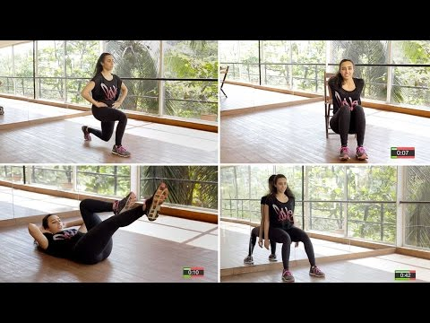 4-Minute Full Body Workout | Fitness With Namrata Purohit