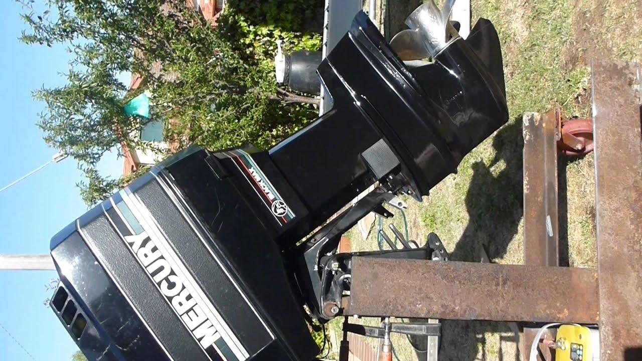 Tracker Outboard Motor Partsconsiglio Acquisto Fuoribordo Johnson Bass 175 Txw Wiring Diagram Mercury Blackmax Hp Tilt Up Amp Down Youtube