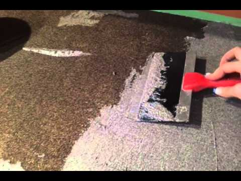 Rustoleum Countertop Paint Stone Effects : Stage 2 Step 2 of stone effects - YouTube