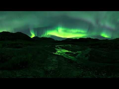 Gulkana 360: EPIC NORTHERN LIGHTS 360 VR FOOTAGE MUST WATCH!