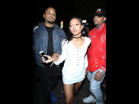All Tea, All Shade: Chris Brown & Karrueche Drama