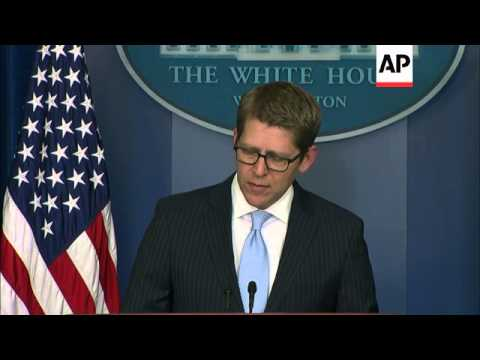 White House spokesman Jay Carney says a botched execution of a death row inmate in Oklahoma fell sho