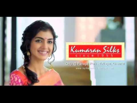 Silk Cotton Sarees in Kumaran Silks Linen Silk Saree by Kumaran