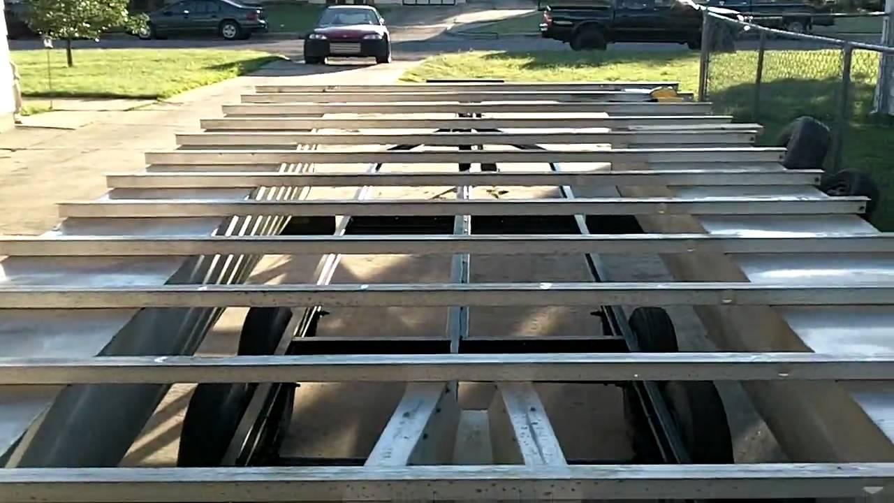 rebuilding the pontoon