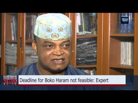 Buhari's deadline for BH not feasible: Nigerian top Security Expert