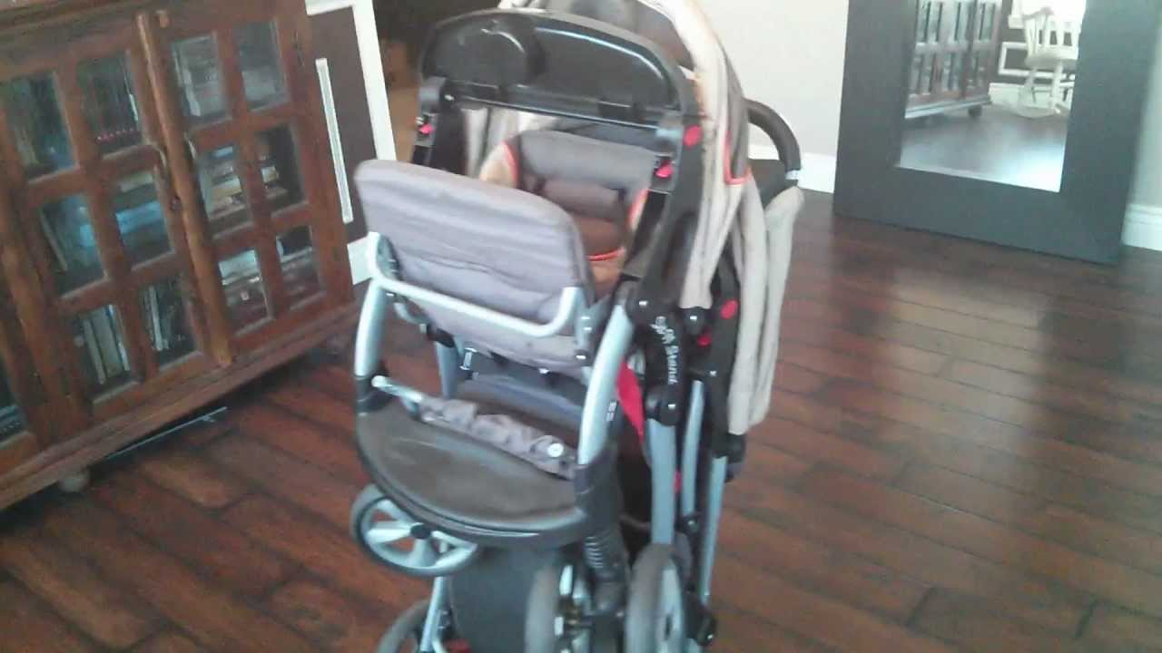 Baby Trend Sit N Stand Double Stroller - YouTube