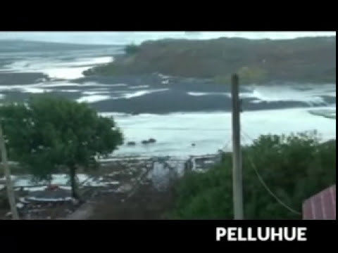 Terremoto y Tsunami Chile 2010 en vivo Earthquake
