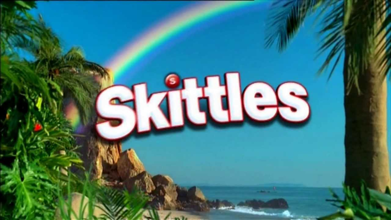 skittles werbung fruchtiges kaubonbon skittles try the rainbow youtube. Black Bedroom Furniture Sets. Home Design Ideas