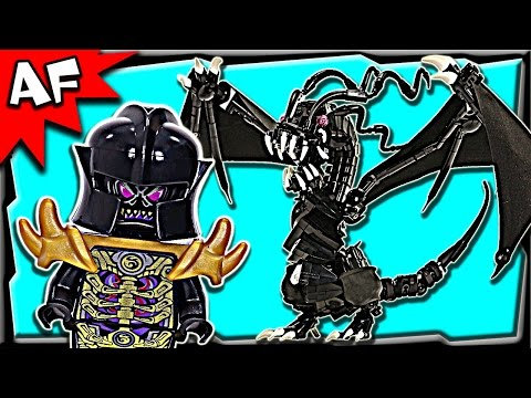 The OVERLORD DRAGON Custom Lego Ninjago Stop Motion Set Review