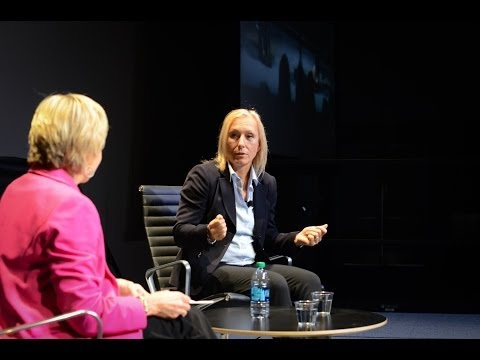 Martina Navratilova: The Life of a Human Athletic Animal