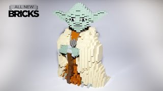 Lego Star Wars 7194 Yoda Ultimate Collector Series 2002 Speed Build