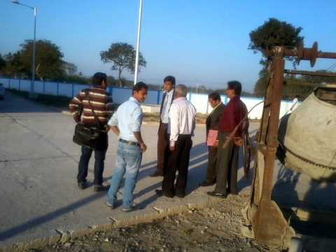 Inspection Of Road Construction / Building Construction At Birbhum,West Bengal.