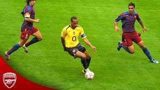 8 Minutes of Thierry Henry Humiliating Defenders