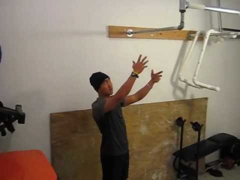 Crossfit Garage Gym Diy Pull Up Bar Youtube
