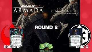 Star Wars: Armada - Round 2 | 401 Games Store Champs - Jul 29 2018