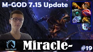 Miracle - Phantom Assassin Safelane | M-GOD 7.15 Update Patch | Dota 2 Pro MMR Gameplay #19