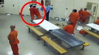 Chilling Prison Moments Caught On Camera