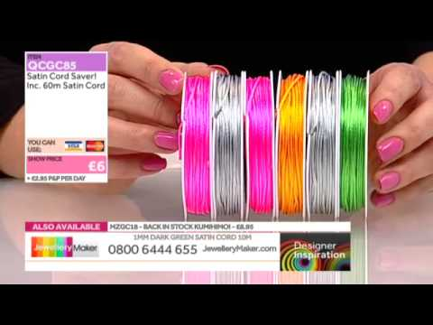 Learn How to Kumihimo and Make Kumihimo Jewellery [Tutorial]: Jewellery Maker 08/03/14