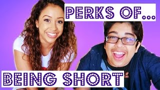 PERKS OF BEING SHORT! ft. BigNik   Lizzza