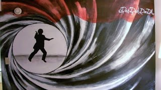 James Bond Mural...... Duh Da DaDA~