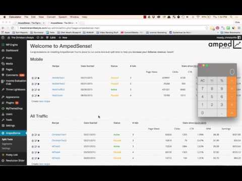 AmpedSense Review - How To Increase Adsense Earnings $7.08 in 60 Seconds