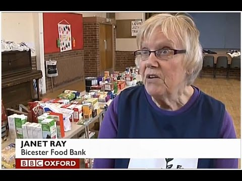 Oxford Food Bank (BBC Oxford TV News)