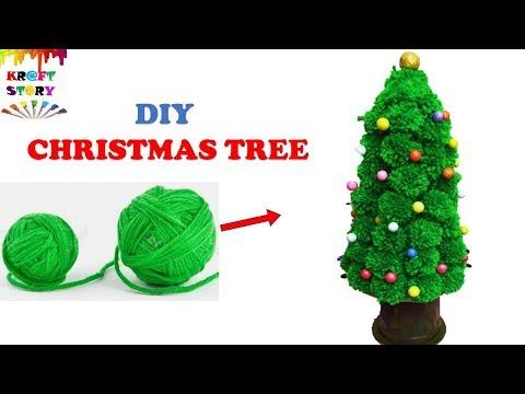 DIY christmas tree || Christmas Craft idea