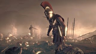 Assassin's Creed Odyssey - Death of Leonidas & 300 Spartans Cutscene (PS4 Pro)