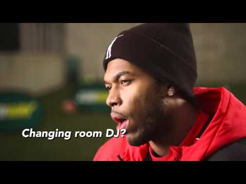 Exclusive Daniel Sturridge interview on Teammates at Liverpool FC